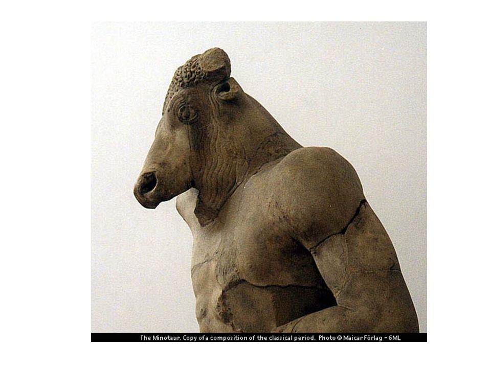 Minden kilencedik évben (egyesek szerint évente) hét ifjút és hét leányt áldozzanak a Minótaurusznak.