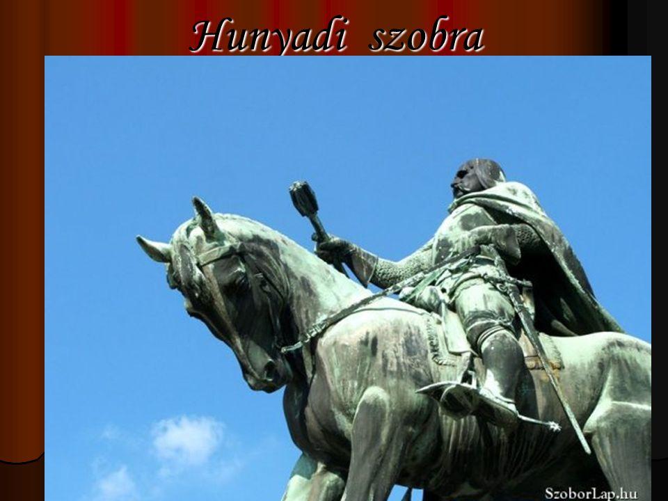 Hunyadi szobra