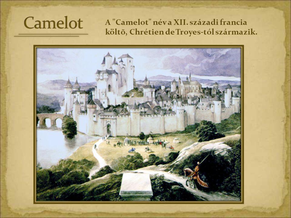 Camelotról, az aranyvárosról szóló legendák, ahol béke és egyetértés uralkodik, elõször a középkorban ragadták meg az emberek képzeletét, amikor háborúk és járványok pusztítottak.