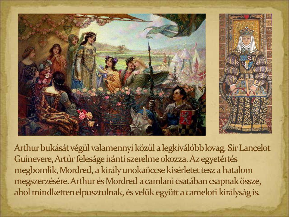 Merlin verset diktál.(Illusztráció egy 13.