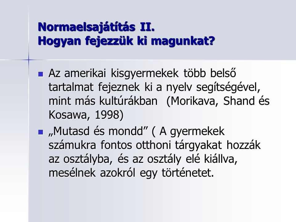 Felsőoktatás II.