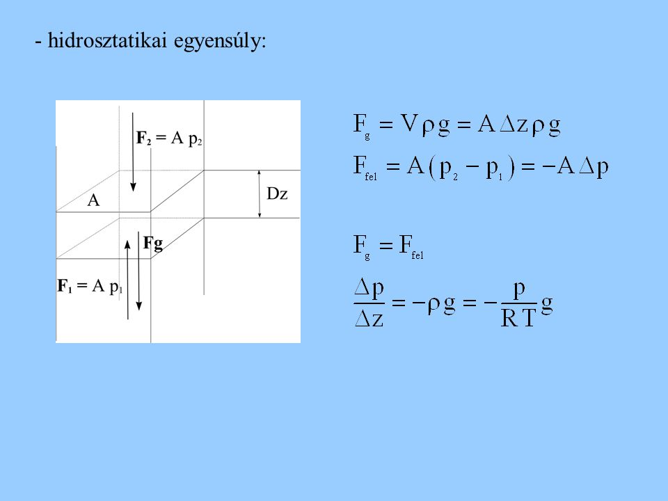 Tehetetlenségi erők A Newton-féle axiómák csak tehetetlenségi rendszerekben érvényesek - egyenes vonal mentén gyorsuló rendszerben lévő test a F t = m a - forgó rendszerben nyugalomban lévő test m F t = m r  2 FkFk