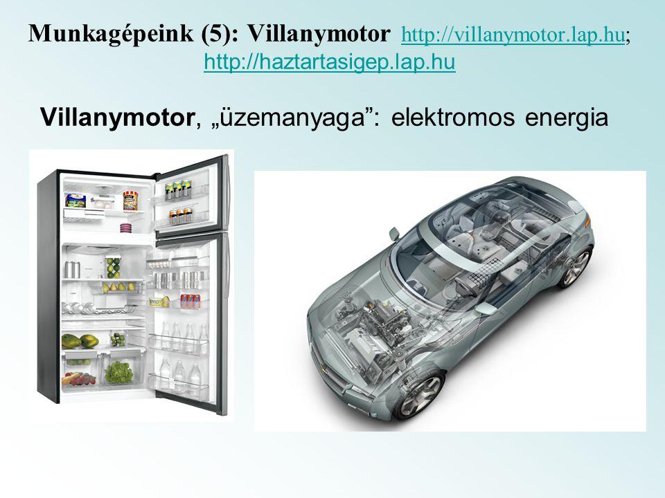 Munkagépeink (5): Villanymotor http://villanymotor.lap.hu; http://haztartasigep.lap.hu http://villanymotor.lap.hu http://haztartasigep.lap.hu Villanym
