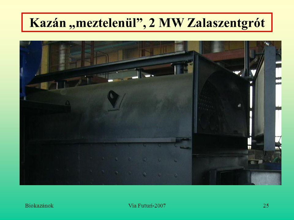 """BiokazánokVia Futuri-200725 Kazán """"meztelenül"""", 2 MW Zalaszentgrót"""
