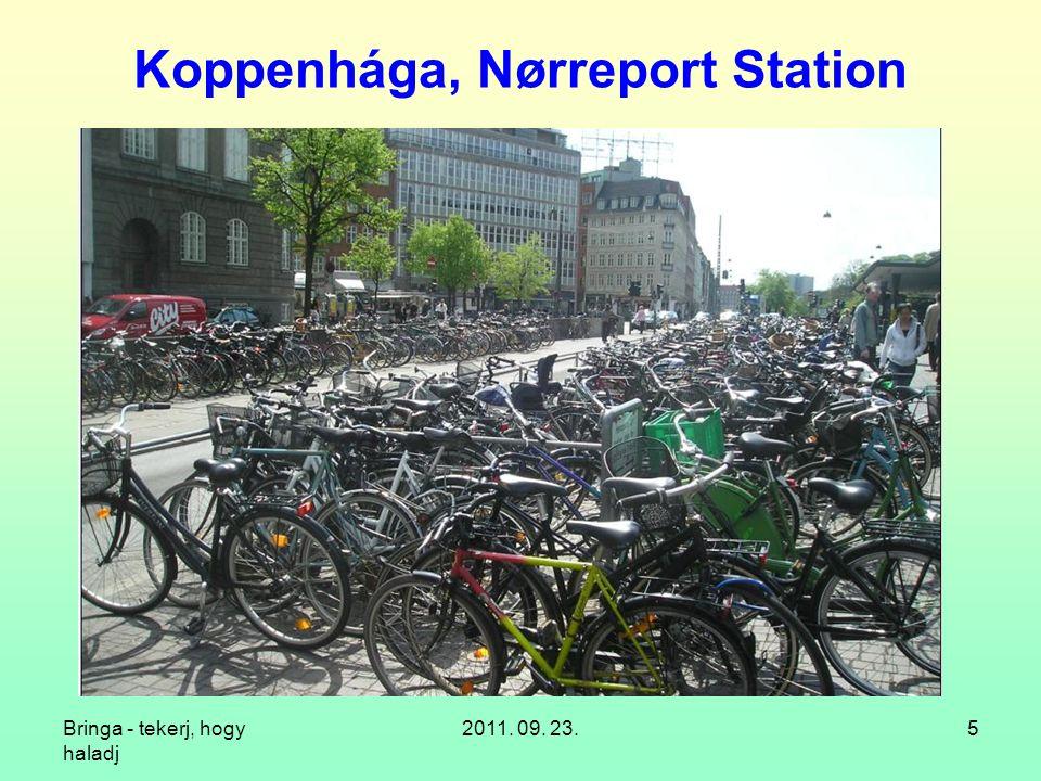 Bringa - tekerj, hogy haladj 2011. 09. 23.5 Koppenhága, Nørreport Station