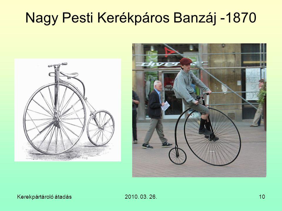 Kerekpártároló átadás2010. 03. 26.10 Nagy Pesti Kerékpáros Banzáj -1870