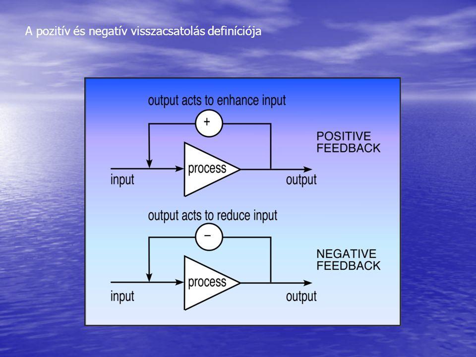 A pozitív és negatív visszacsatolás definíciója