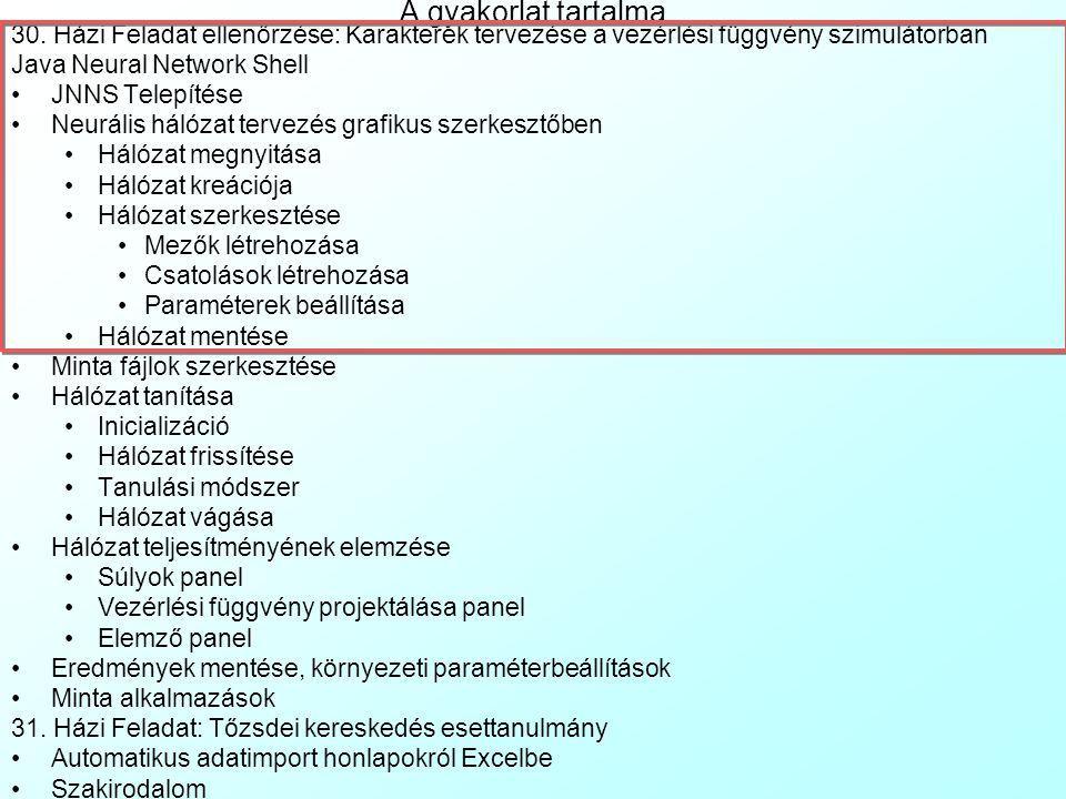 Pécsi Tudományegyetem Pollack Mihály Műszaki Kar Műszaki Informatika Szak Data Mining 31.