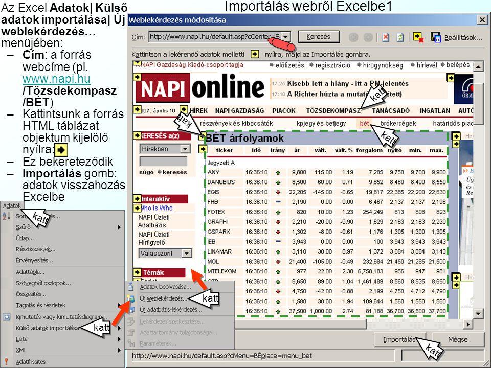 Tőzsdei spekuláció a műegyetemen www.index.hu 2007.