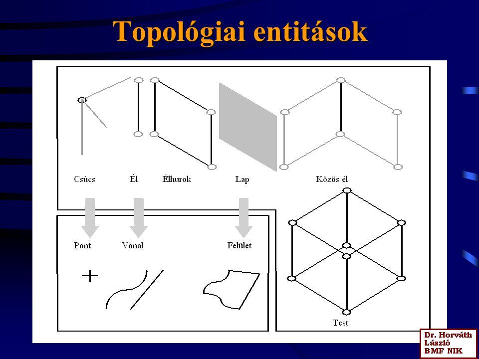 Topológiai entitások