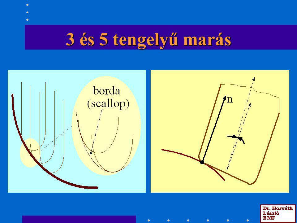 3 és 5 tengelyű marás