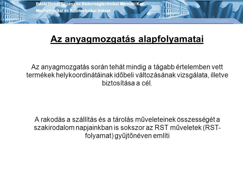 Bánki Donát Gépész és Biztonságtechnikai Mérnöki Kar Mechatronikai és Autótechnikai Intézet 2.
