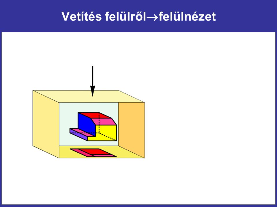 Beforgatott szelvény Vékony folytonos vonallal kontúrozva, vonalkázva (Azonosításra nincs szükség)