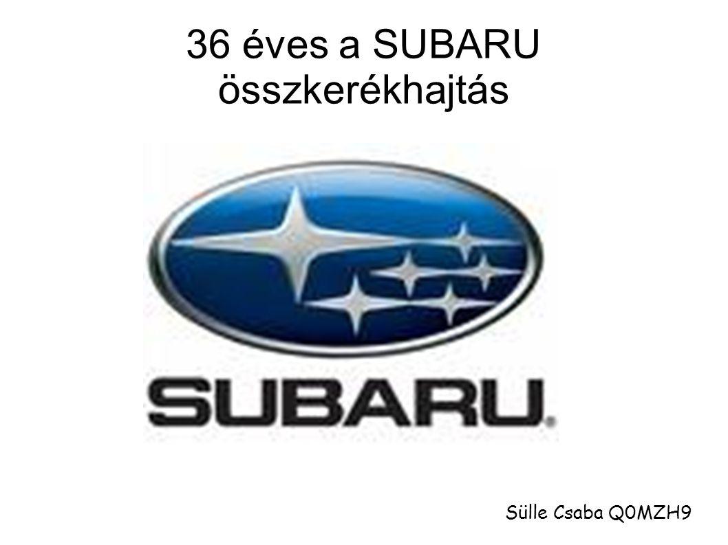 36 éves a SUBARU összkerékhajtás Sülle Csaba Q0MZH9