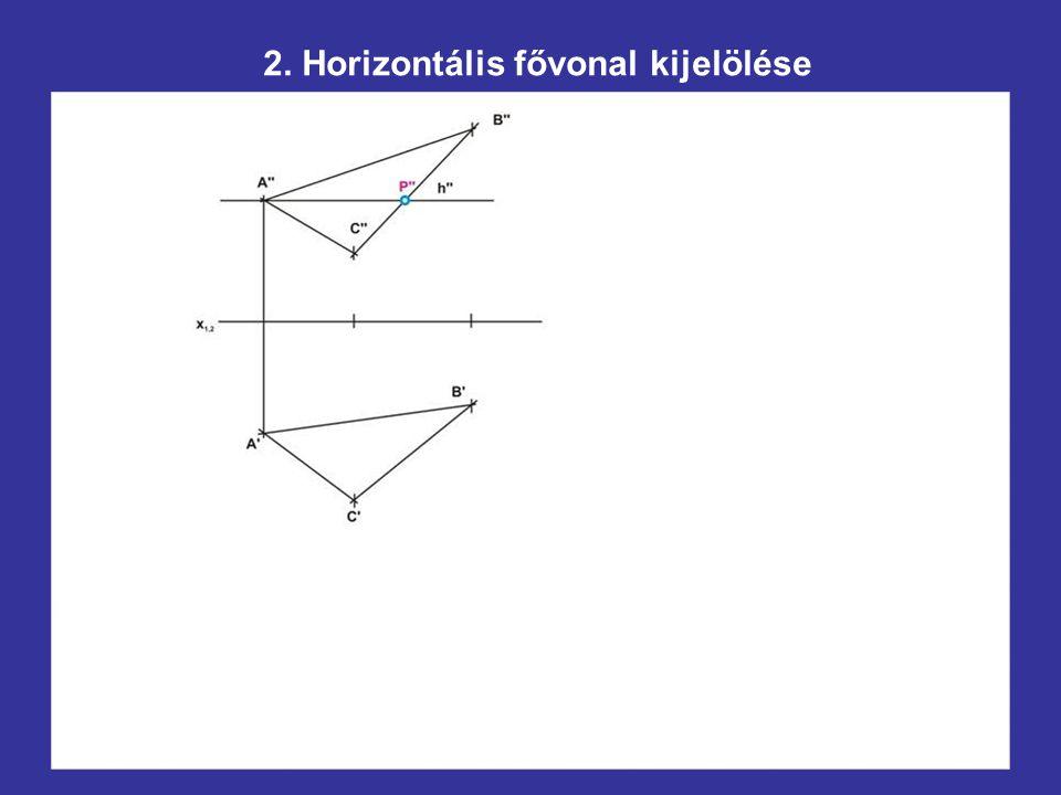 A háromszög köré írható kör középpontjának szerkesztése
