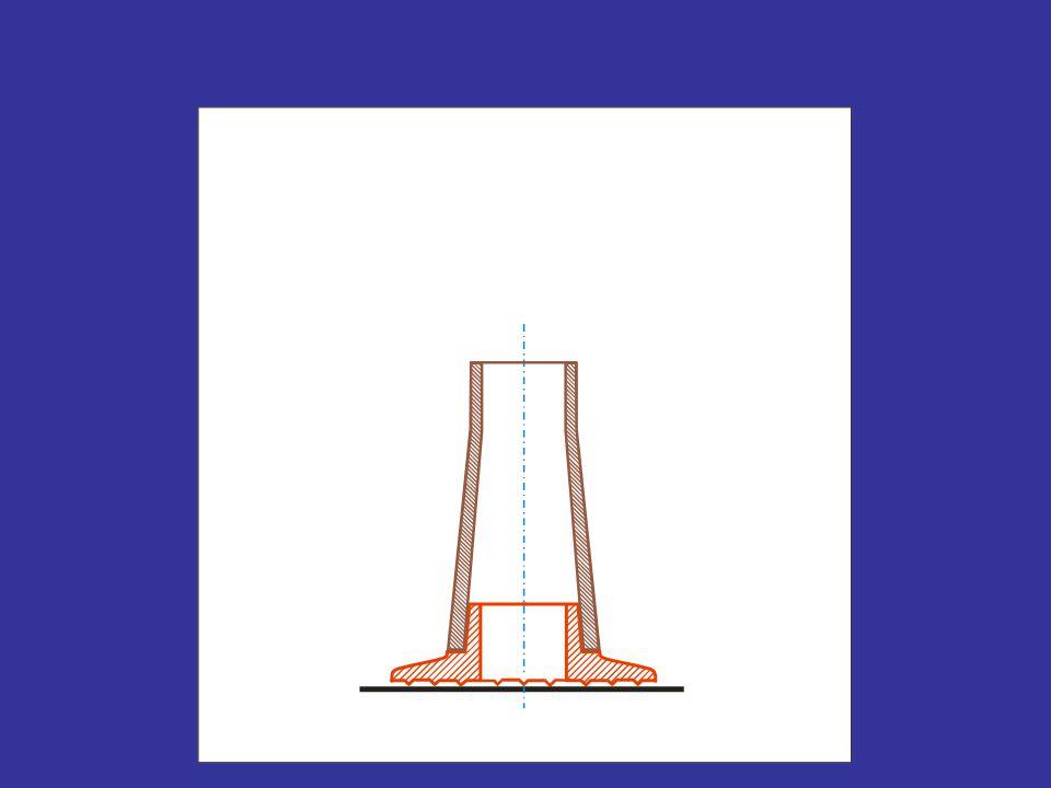 Újabb próbálkozás: legyen d = 32 mm Tr32×6 Közepes átmérő: d 2 = 29 mm Menetemelkedés: P = 6 mm Névleges átmérő: d = 32 mm Magátmérő: d 1 = 25 mm A menet megnevezése: