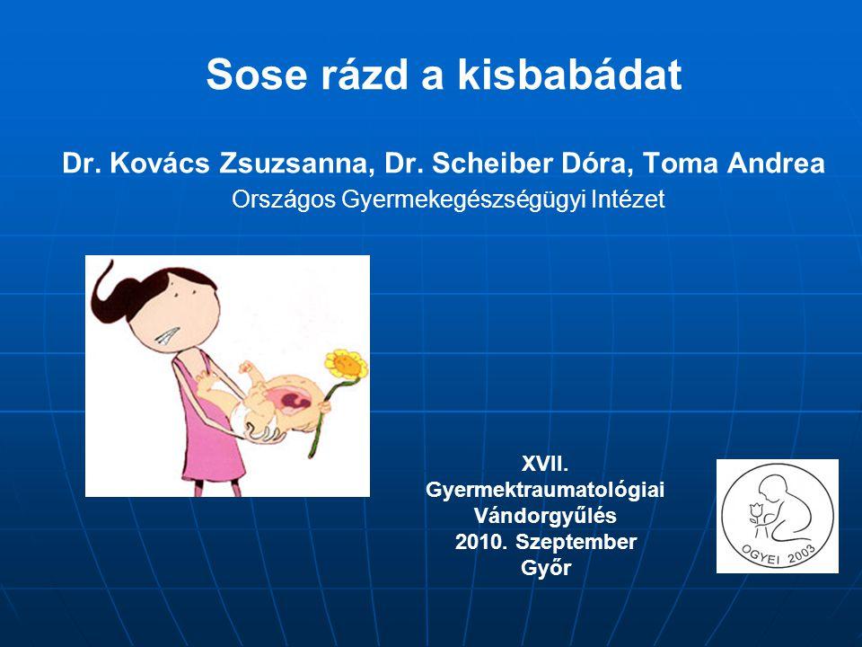 Sose rázd a kisbabádat Dr.Kovács Zsuzsanna, Dr.