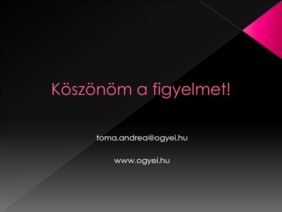 toma.andrea@ogyei.hu www.ogyei.hu