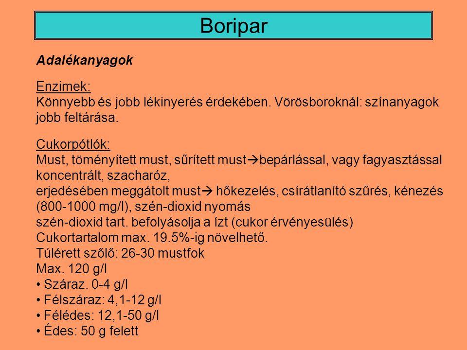 Söripar Barna sörök: pörkölt maláta: nedvesítés  120-130°C-on hevítés Karamellmaláta, festőmaláta: Sötét színanyag; magasabb hőm.