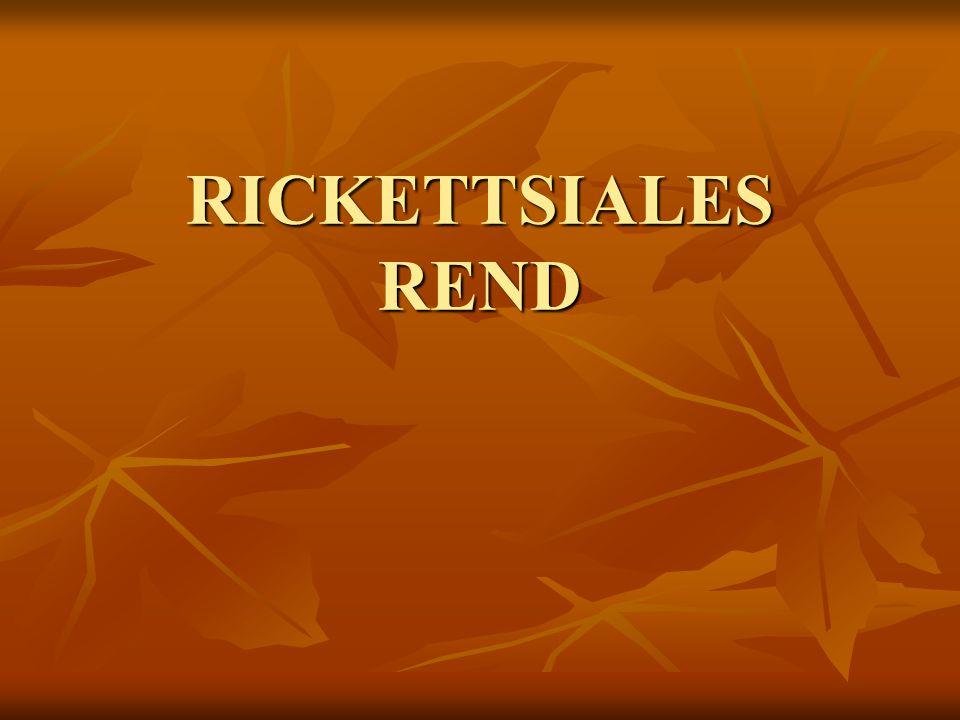RICKETTSIALES REND