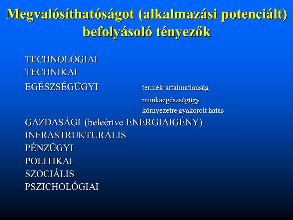 Egyes élelmiszerekben előforduló termofil baktériumok Genusz Fajok megnevezése Optimális hőmérséklet (°C) Előfordulás Bacilluskaustophilus60-65tej coagulans65-70tej stearothermophilus65-70cukorfeldolgozás Clostridium különböző jellegűek 60bélflóra thermoaceticum60élelmiszer thermosaccharolyticum60élelmiszer nigrificans60 erjesztő folyamat (Wallhäuser, 1990)