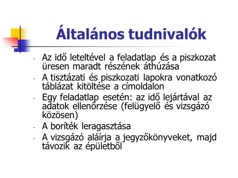 Német nyelv Időpont: május 11.