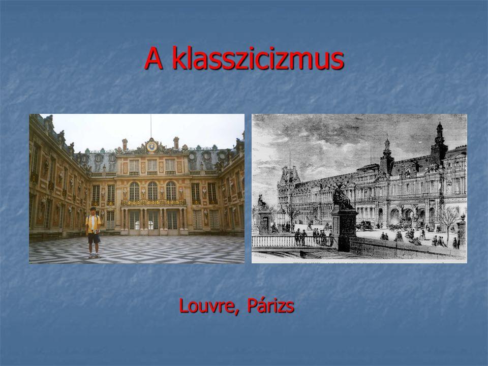 A klasszicizmus Louvre, Párizs