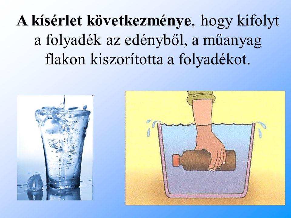 Arkhimédész görög tudós tanulmányozta először ezt a folyadékok kiszorításával kapcsolatos jelenséget.