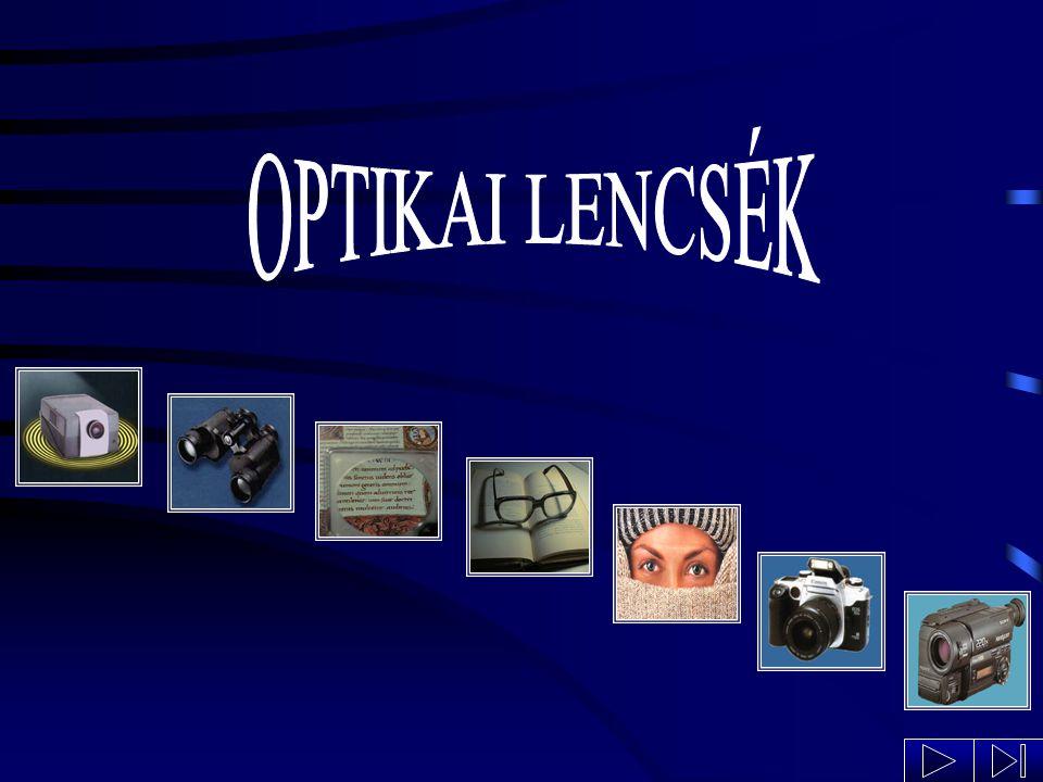Az emberi szem retina látóideg pupilla szemlencse A retinán keletkezett kép: fordított állású kicsinyített valódi