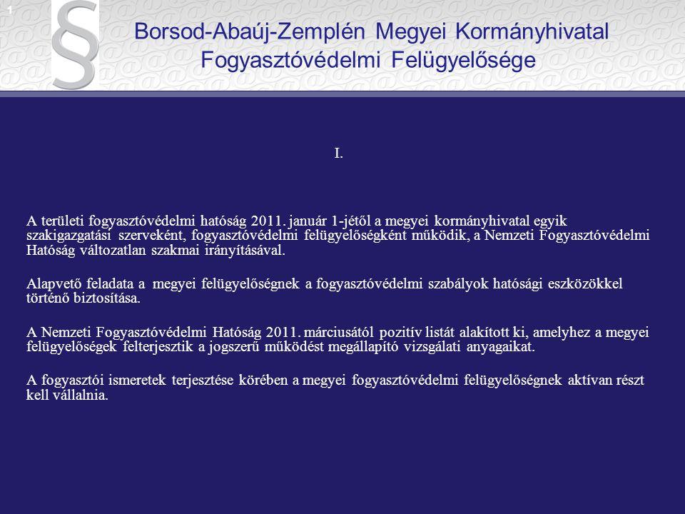 II.A 2010. évi CXXVI. törvény és a 288/2010. (XII.21.) Korm.