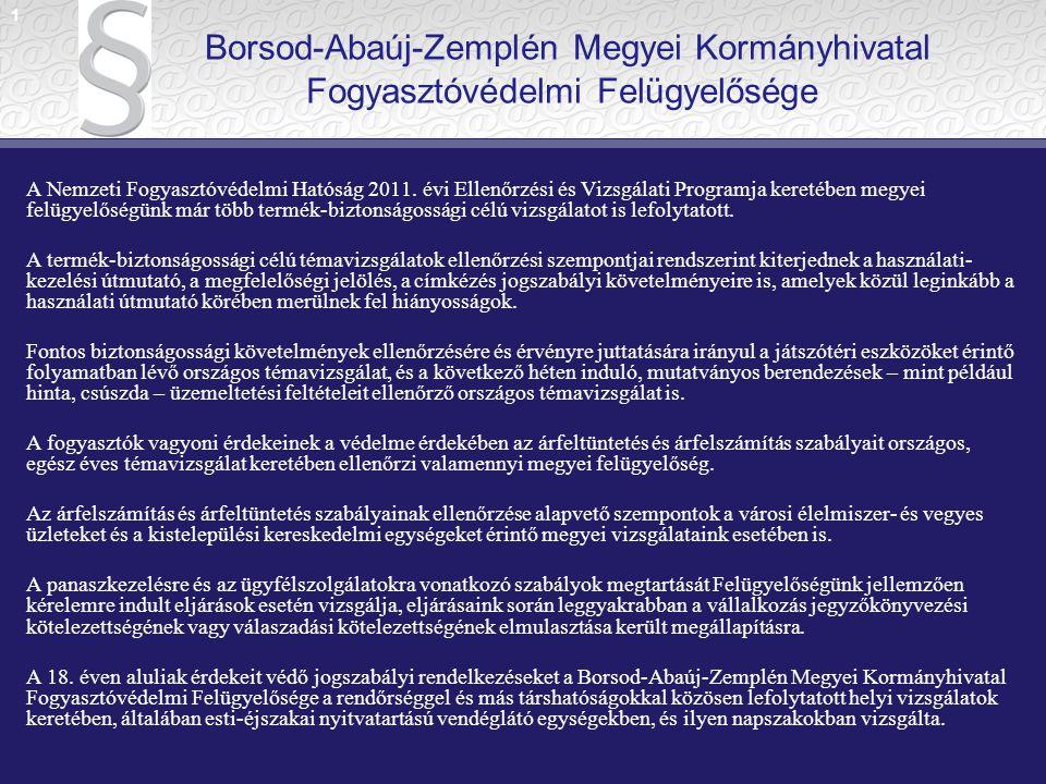 IV.A fogyasztóvédelemről szóló 1997. évi CLV. törvény 45/A.