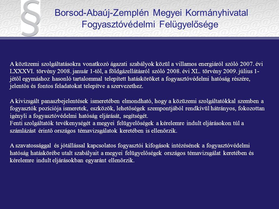 V.A fogyasztóvédelemről szóló 1997. évi CLV. törvény 45/A.