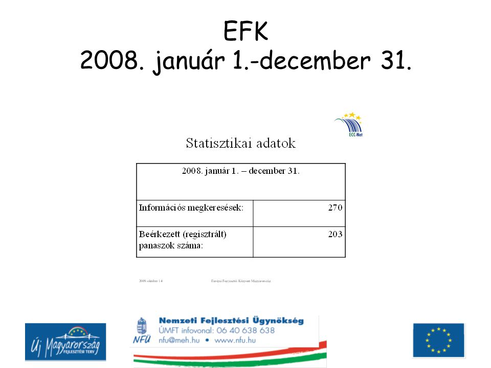 EFK 2008. január 1.-december 31.