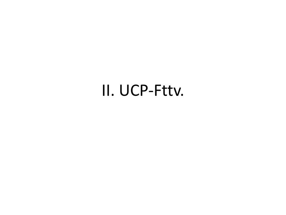 II. UCP-Fttv.