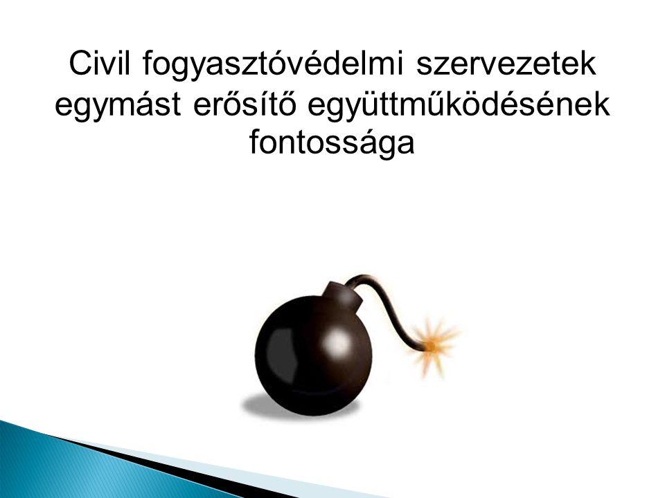 Civil fogyasztóvédelmi szervezetek egymást erősítő együttműködésének fontossága
