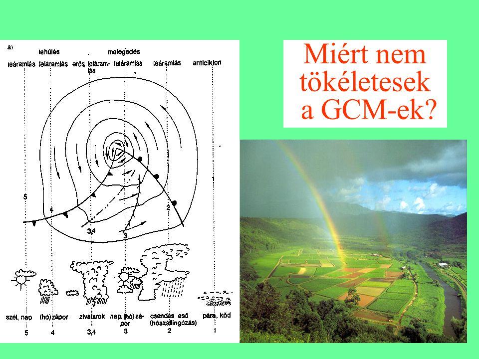 Miért nem tökéletesek a GCM-ek?