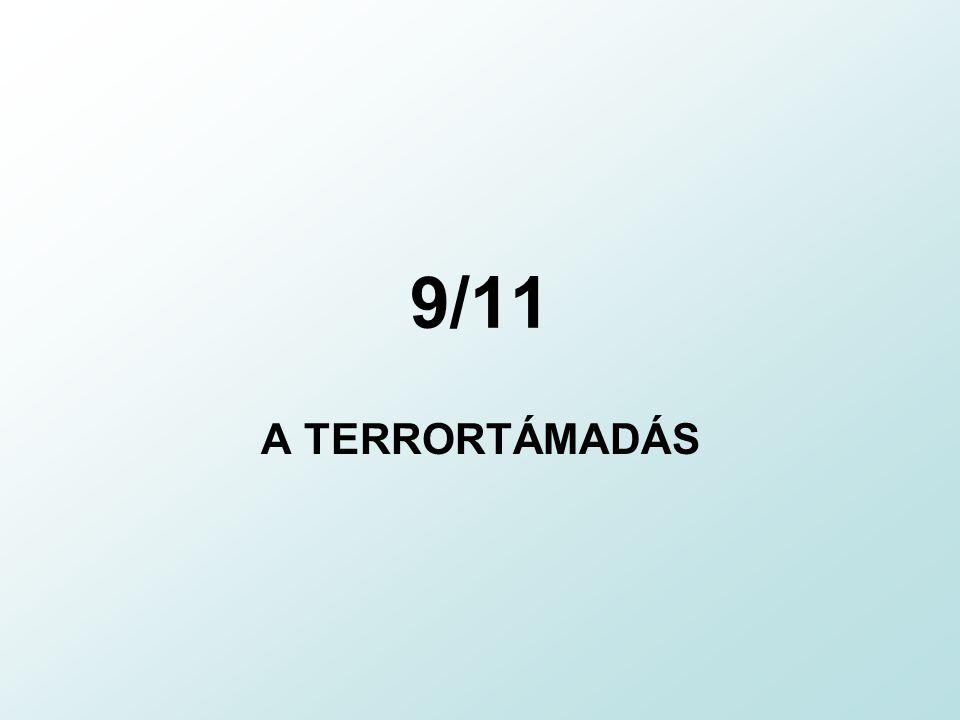 A támadás után A Pentagon épületét egy éven belül helyreállították World Trade Center: átadás 2013-ra USA katonai válaszcsapása, a terrorimzus elleni háború: Afganisztán megszállása