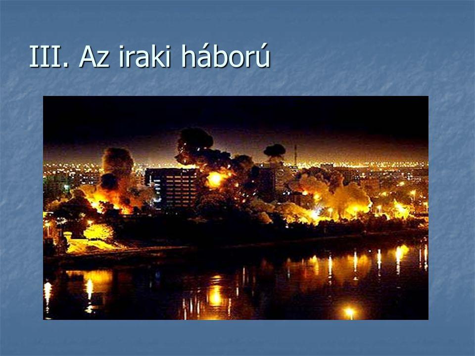 III. Az iraki háború
