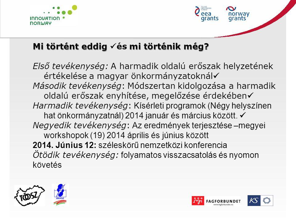 Magyar pilotban résztvevők képzése Budapesten 2013.