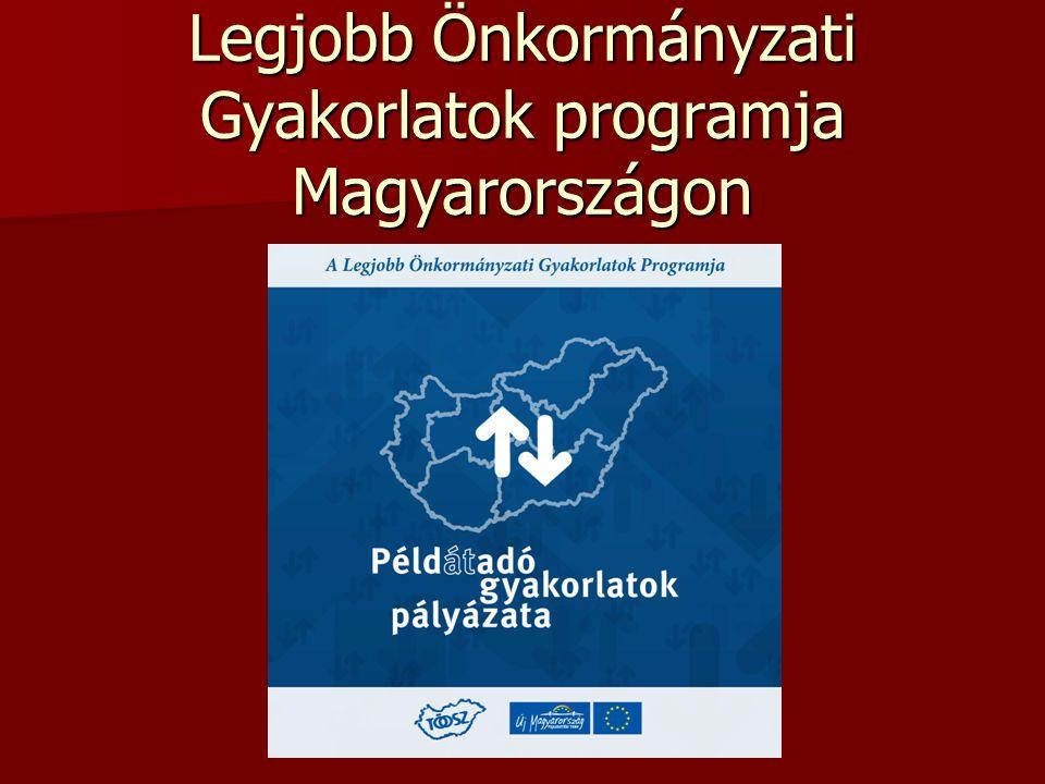 Legjobb Önkormányzati Gyakorlatok programja Magyarországon