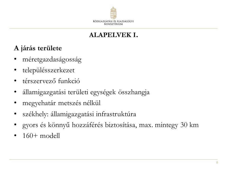 6 ALAPELVEK I.
