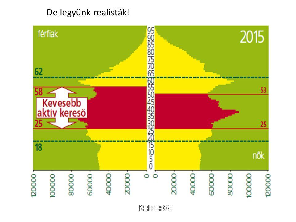 De legyünk realisták! ProfitLine.hu 2012 ProfitLine.hu 2013