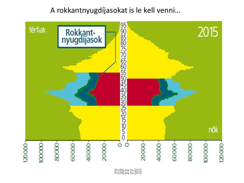 A rokkantnyugdíjasokat is le kell venni… ProfitLine.hu 2012 ProfitLine.hu 2013