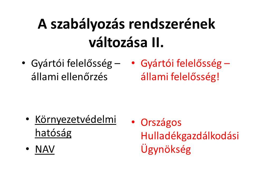 Termékdíjtételek (2012): csomagolás Termékdíj (2011) Ft/kg Hasznosítási díj (2011) Ft/kg Termékdíj (2012) Ft/kg ?.