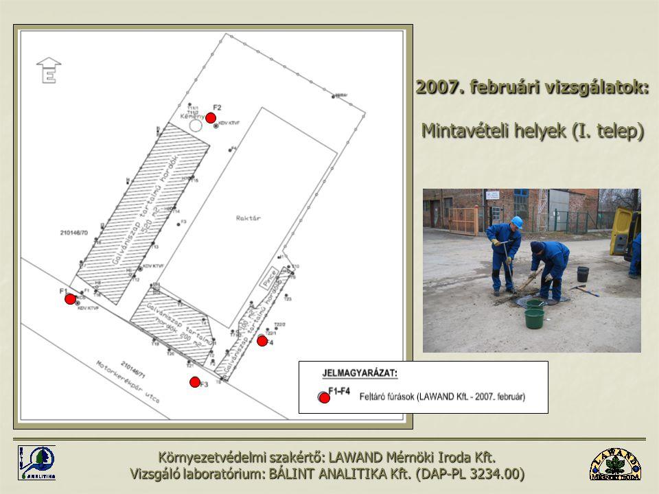 Környezetvédelmi szakértő: LAWAND Mérnöki Iroda Kft.