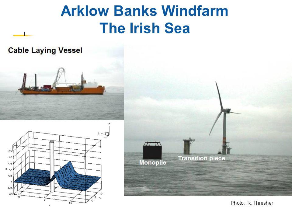 Arklow Banks Windfarm The Irish Sea Photo: R. Thresher