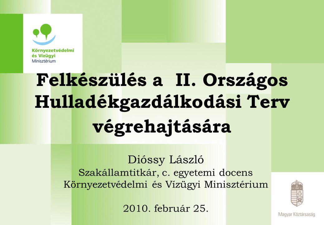 Tervezés – OHT I.Magyarországon először a 2001. január 1-től hatályos 2000.