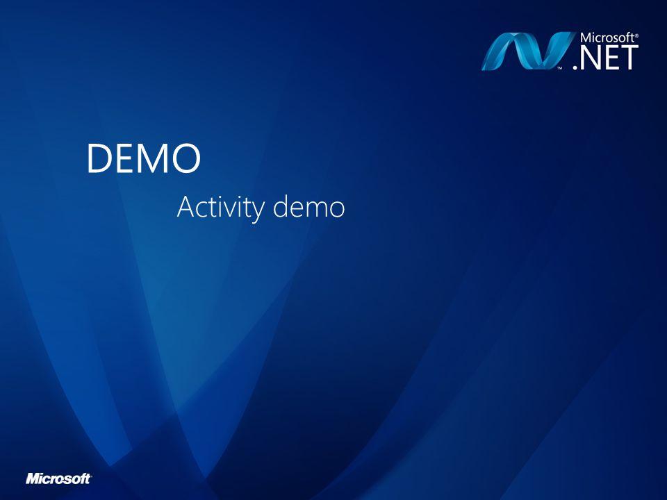 DEMO Activity demo
