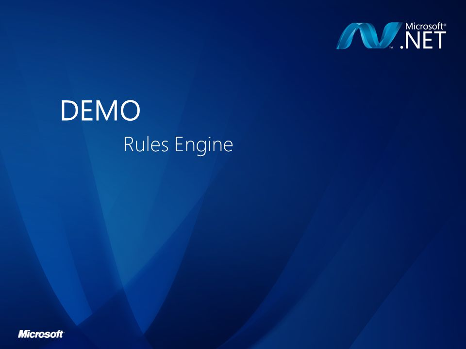 DEMO Rules Engine