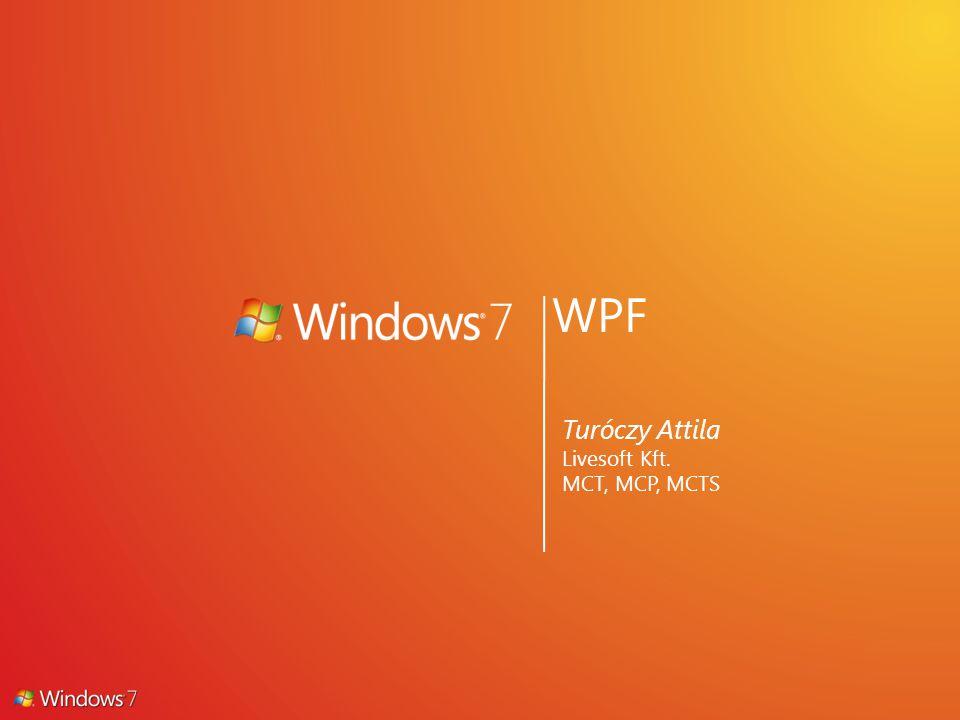 WPF Turóczy Attila Livesoft Kft. MCT, MCP, MCTS